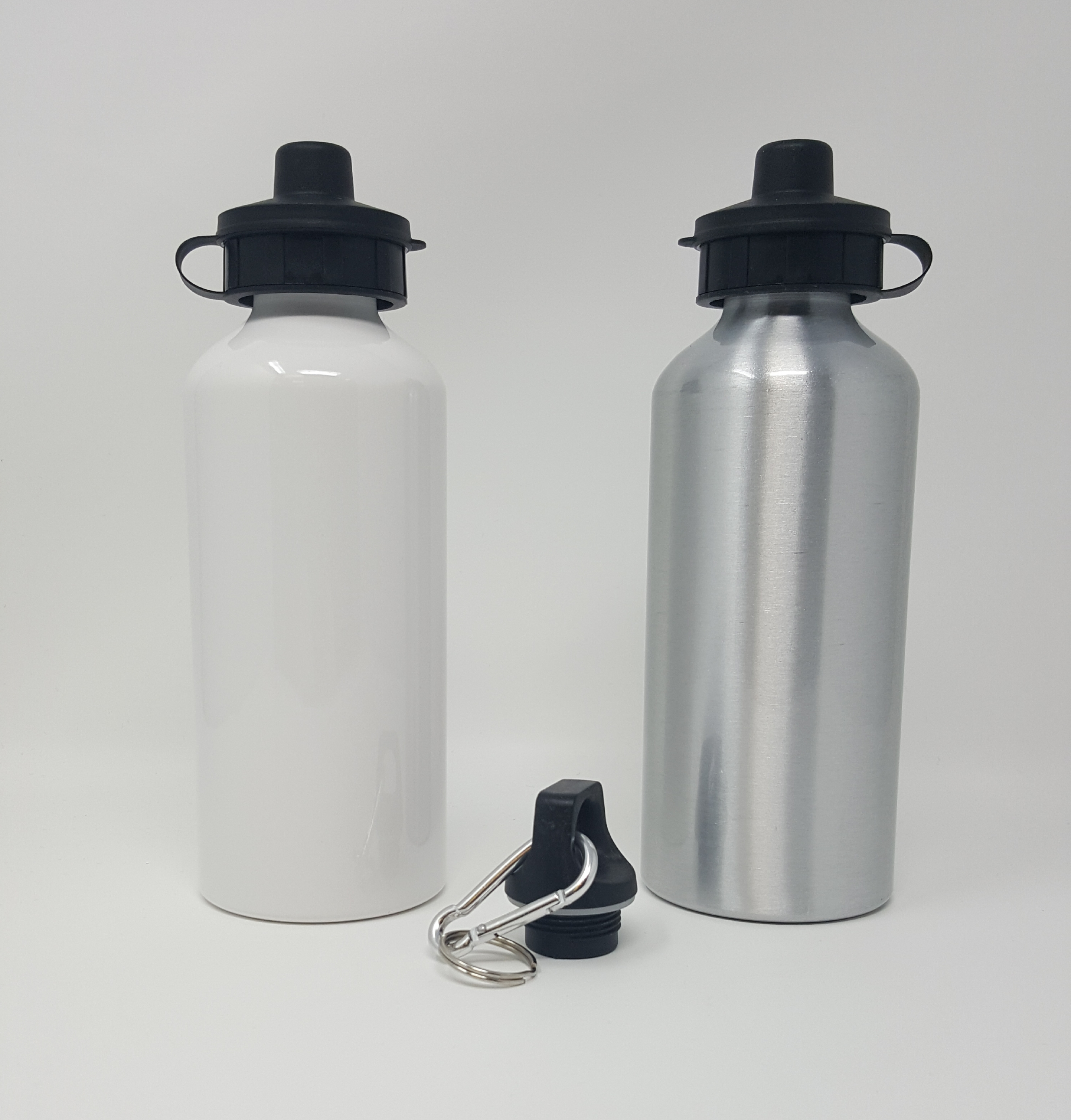 Sport Bottle (Size: 20oz, School Colors: White/Blue - YLS)