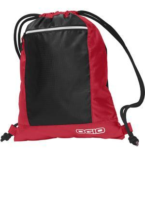 Hidden Storage, Pulse Cinch Pack. 412045. (Color: Deep Red Black)