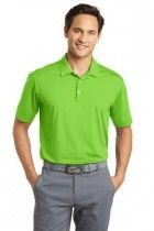 Dri-FIT Men's Vertical Mesh Golf Polo by Nike. 637167. (Color: Action Green, Size: Large)