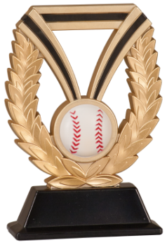 "6S0505 Baseball/ Softball DuraResin Award (Trophy: 6"" Baseball Dura)"