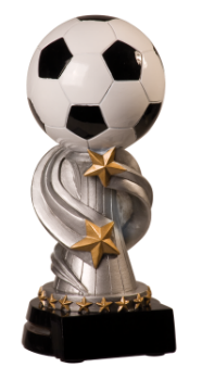 "6S0804 Soccer Encore League Standing Resin Trophy (Trophy: 5 3/4"" Soccer Encore League Standing)"