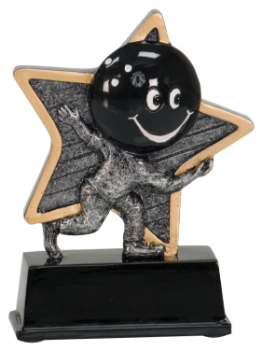 "6S1907 Bowling Little Pal Resin Award (Trophy: 5"" Bowling Little Pal)"