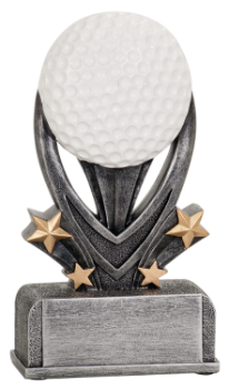 "6S3001 Golf Varsity Sport Resin (Trophy: 5 1/2"" Golf Varsity Sport)"