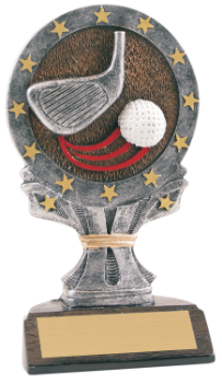 "6S3004 Golf All Star Resin Award (Trophy: 6 1/4"" Golf All Star)"