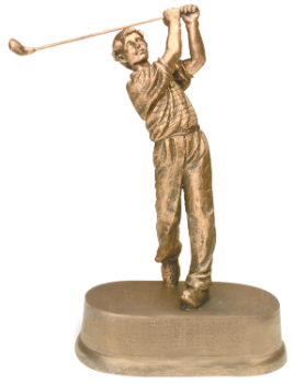 "6S3104 Golf Male Resin (Trophy: 8 3/4"" Golf Male)"