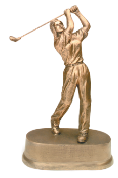 "6S3105 Golf Female Resin Award (Trophy: 8 3/4"" Golf Female)"