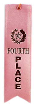"6S3600 ""Pinked Top"" Ribbons (Award: 4th Place (Pink/ Gold Graphics))"