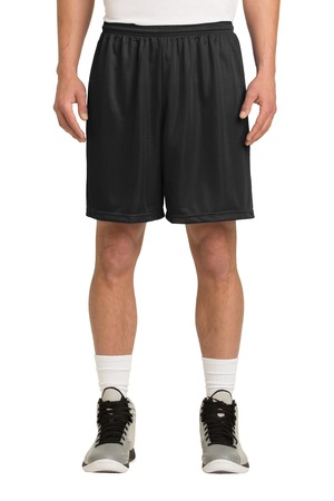 Mini Mesh P.E. Shorts - SWCS (Color: Black, Size: MD - Size 32/34)