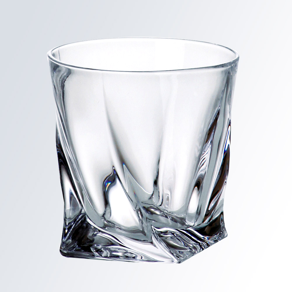 Quadro Crystal Tumblers (Glassware Set: Single Tumbler)