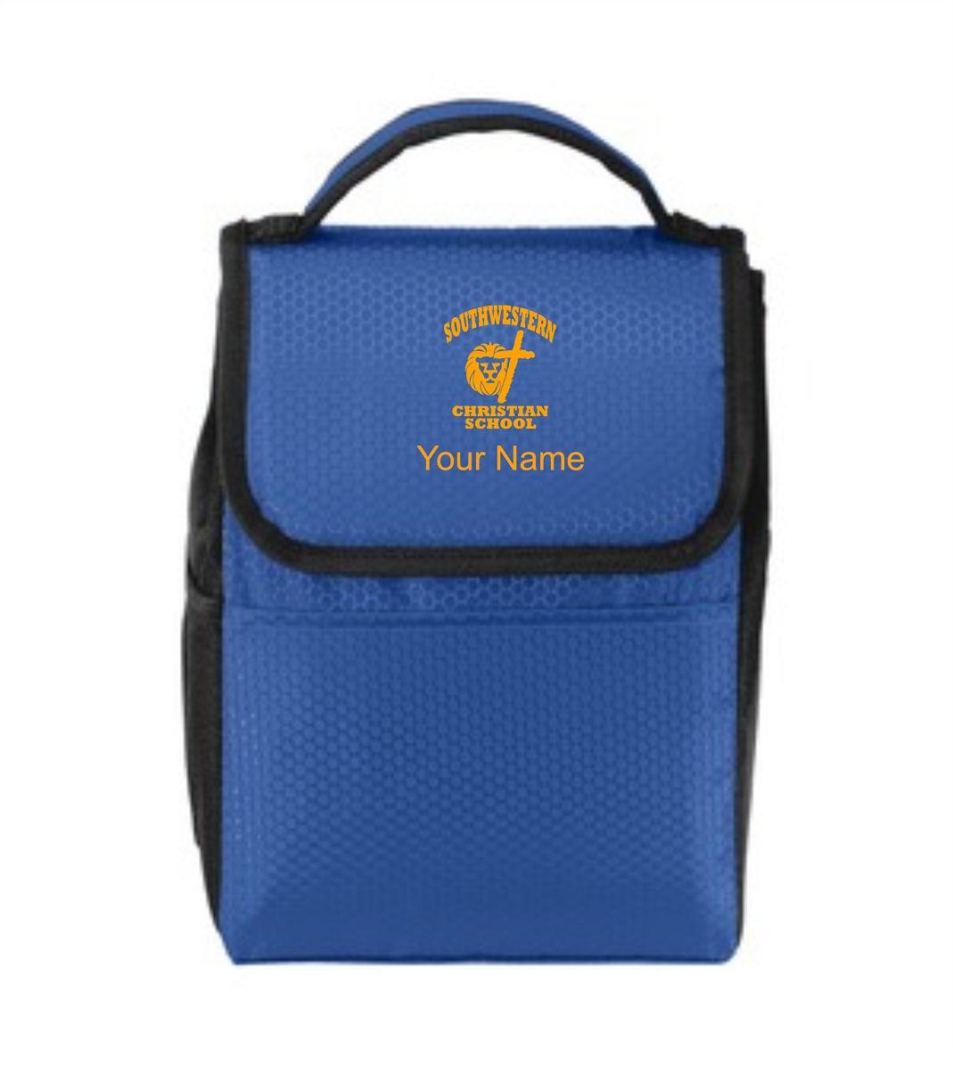 Port Authority® Lunch Bag Cooler - SWCS (Lunch Bag Colors: Twilight Blue/ Black - SWCS)