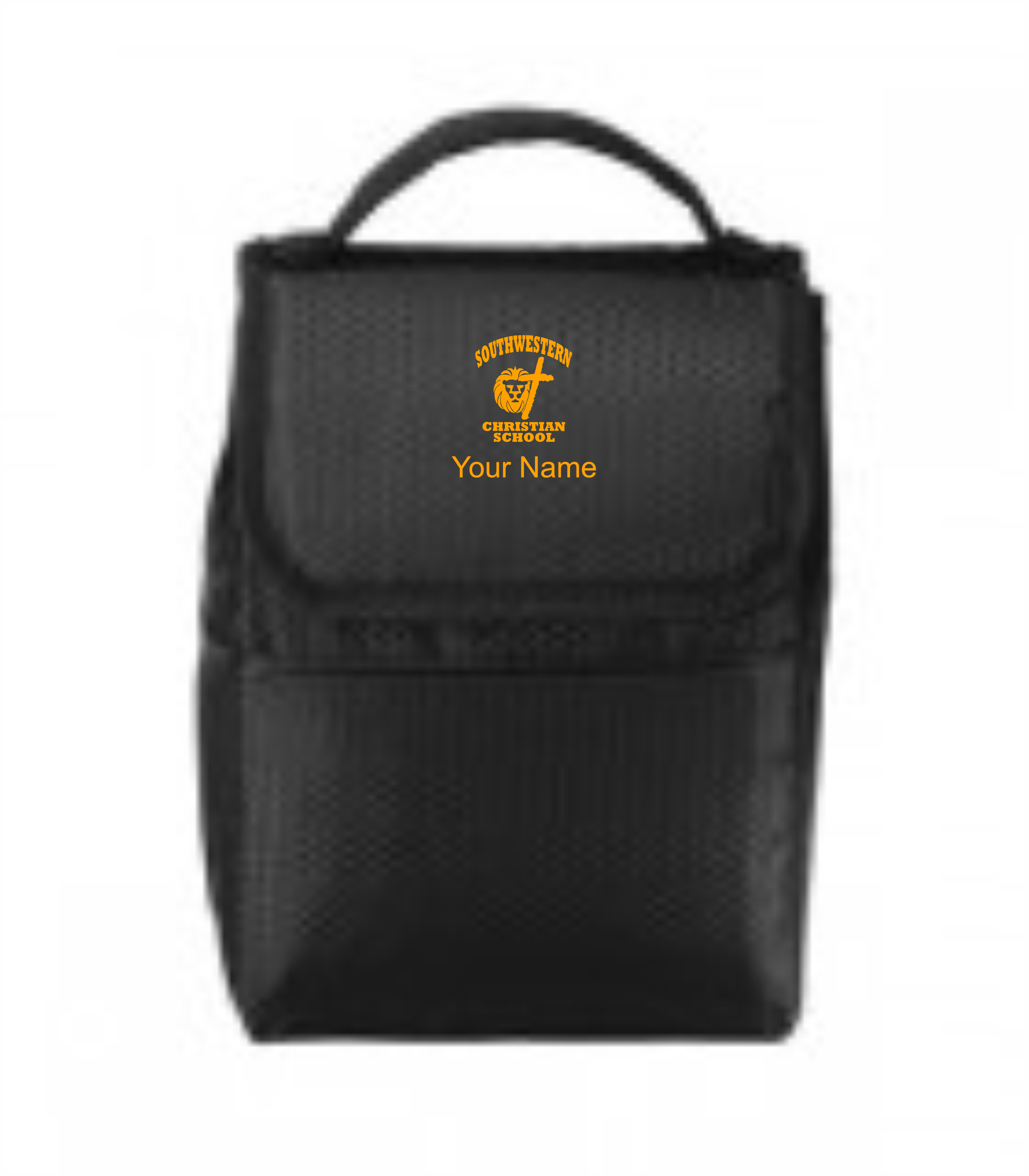 Port Authority® Lunch Bag Cooler - SWCS (Lunch Bag Colors: Black/ Black - SWCS)