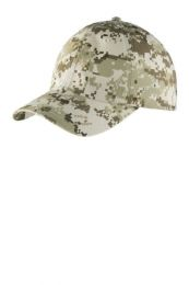 Digital Ripstop Camouflage Cap by Port Authority. C925. (Color: Sand Camo)
