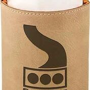 Beverage Holder (Beverage Holder: Light Brown, Leatherette)