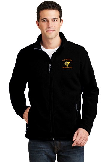 Port Authority® Men's Value Fleece Jacket - SWCS (Jacket Size: XS Size 32-34, School Colors: Black)