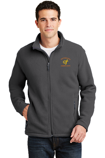 Port Authority® Men's Value Fleece Jacket - SWCS (Jacket Size: XS Size 32-34, School Colors: Grey)