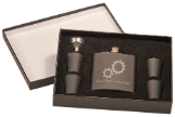 Flask Set, Presentation Box (Flask Set Color Options: Matte Black)