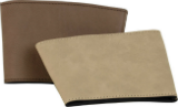 Cup Sleeve (Mug Sleeve: Leatherette, Dark Brown)