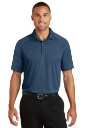 Men's Personalized Crossover Raglan Polo by Port Authority. K575 (Color: Regatta Blue, Size: Large)