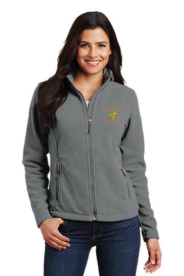Port Authority® Ladies Value Fleece Jacket - SWCS (Jacket Size: XS Size 2, School Colors: Grey)
