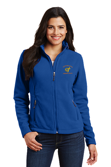 Port Authority® Ladies Value Fleece Jacket - SWCS (Jacket Size: XS Size 2, School Colors: Royal Blue)