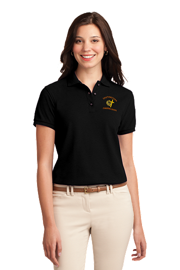 Port Authority® Ladies Silk Touch™ Polo - SWCS Staff and Parents (Color: Black, Size: XS - Size 2)