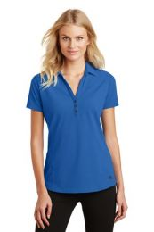 Ladies Onyx Moisture-Wicking Polo by OGIO. LOG126. (Color: Electric Blue, Size: Large)