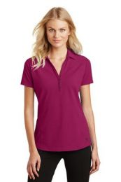 Ladies Onyx Moisture-Wicking Polo by OGIO. LOG126. (Color: Radiant Pink, Size: Large)