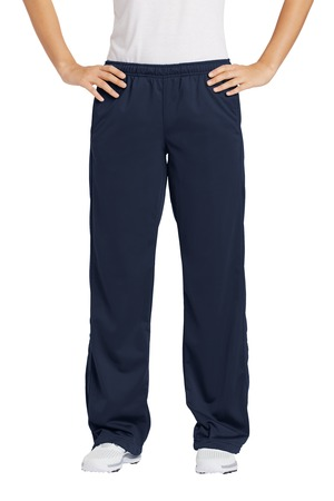 Sport-Tek® Ladies Tricot Track Pant - YLS (Color: Navy, Pant Ladies Sizes: XS - Size 2)