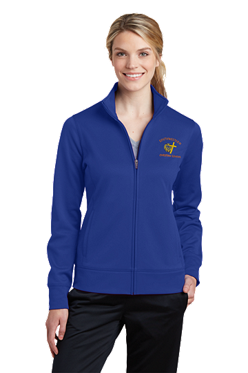 Sport-Tek® Ladies Sport-Wick® Fleece Full-Zip Jacket - SWCS (Color: True Royal, Size: XS - Size 2)
