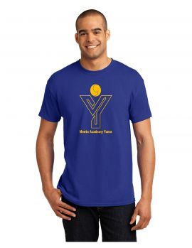 Hanes® - EcoSmart® School Spirit Shirt - Adult - MAY (Color: Royal Blue, Size: Small)