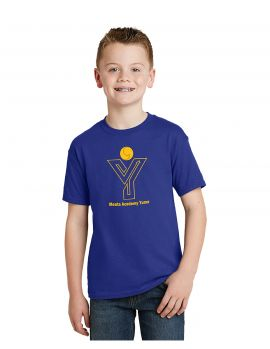 Hanes® - EcoSmart® School Spirit Shirt - Youth - MAY (Color: Royal Blue, Size: YSM - Size 6/7)