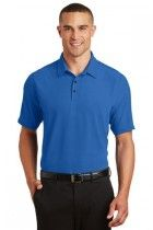 Men's Ultra Soft Onyx Polo by OGIO. OG126. (Color: Electric Blue, Size: Small)