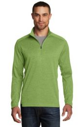 Men's Sweater Alternative Pixel 1/4-Zip by OGIO. OG202. (Color: Green Energy, Size: Large)