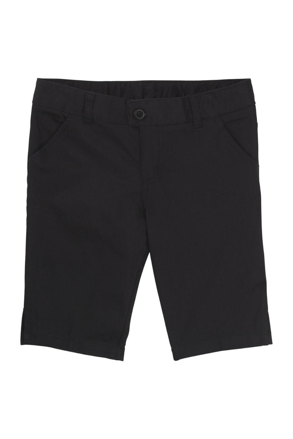 French Toast Girl's Bermuda Short (Color: Black Short, Size: 4)