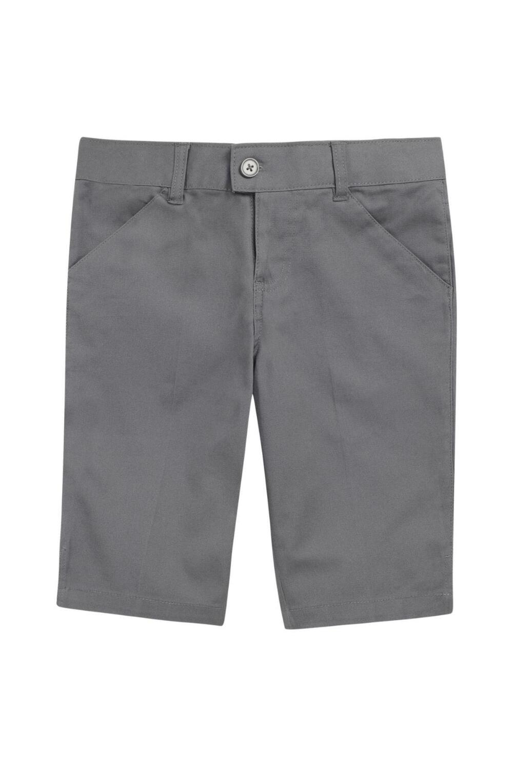 French Toast Girl's Bermuda Short (Color: Grey Short - SWCS, Size: 4)