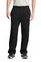 Sport-Tek® Sport-Wick® - Adult - Fleece Pant (Color: Black, Adult Pant Size: XS - Size 26-28)