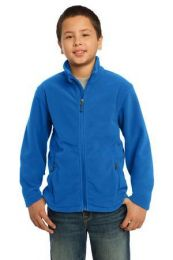 Youth Soft, Light-Weight Fleece Jacket. Y217. (Color: True Royal, Size: XL)