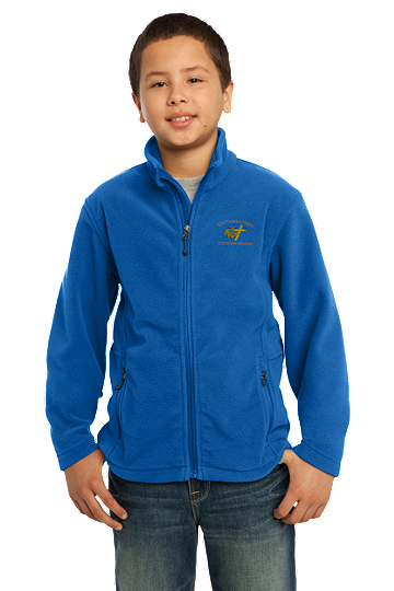 Port Authority® Youth Value Fleece Jacket - SWCS (Color: True Royal, Size: XS - Size 4)