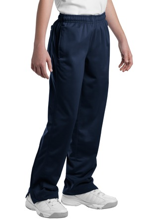 Sport-Tek® Youth Tricot Track Pant - YLS and SWCS (Size: XS, Pant Color: Navy - YLS)