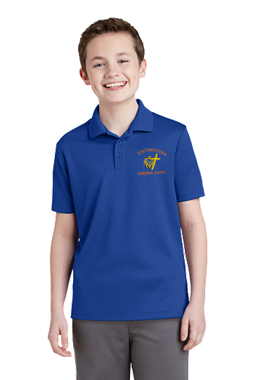Sport-Tek® PosiCharge® RacerMesh® Polo, Unisex - SWCS (Color: True Royal, Size: XS - Size 4)