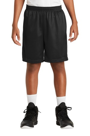Mini Mesh P.E. Shorts - SWCS (Color: Black, Size: YXXS - Size 4)